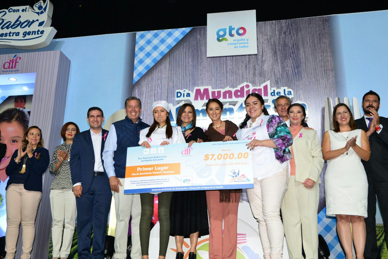 Celaya se destaca en concurso de Platillos Saludables