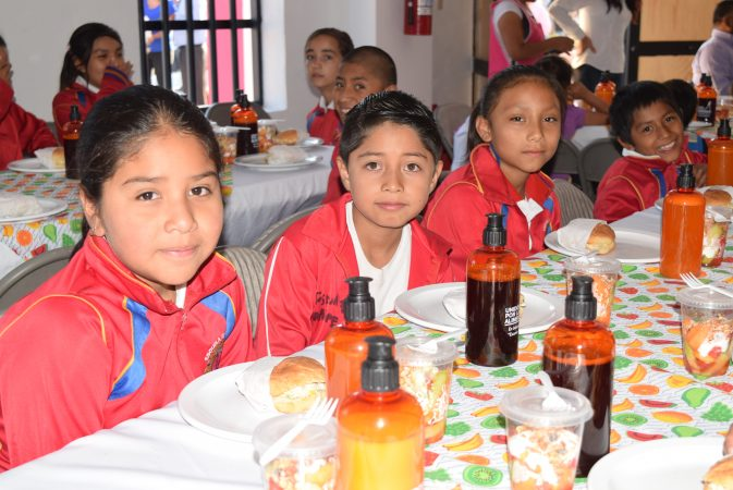 Nuevo comedor escolar en Patria Nueva